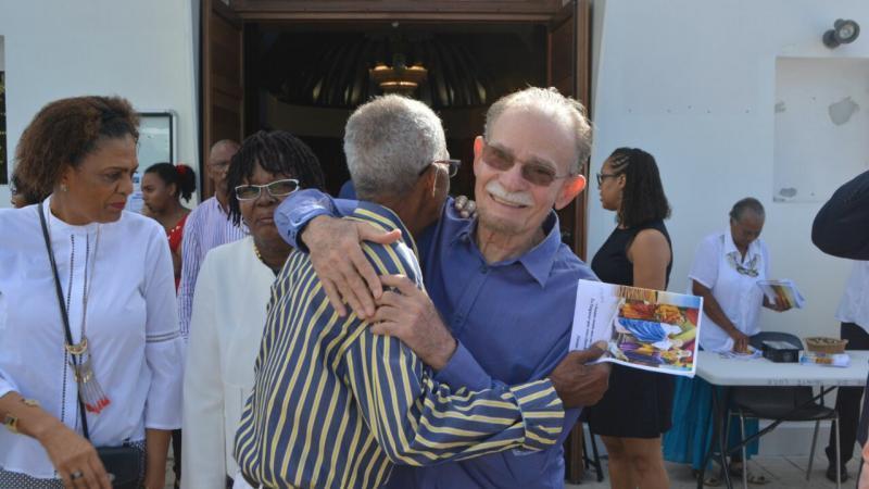 Le Président de la Collectivité de Martinique bien accueilli à Sainte-Luce