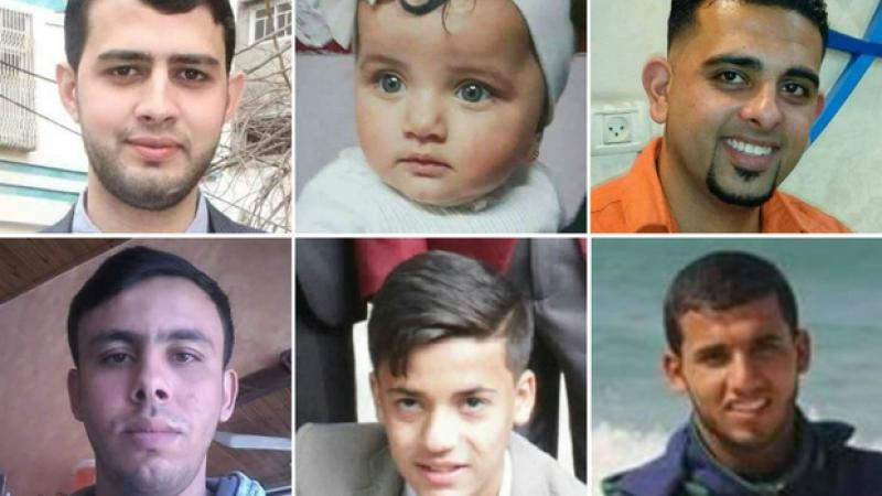 Gaza killings: Names and faces of those killed by Israeli forces this week