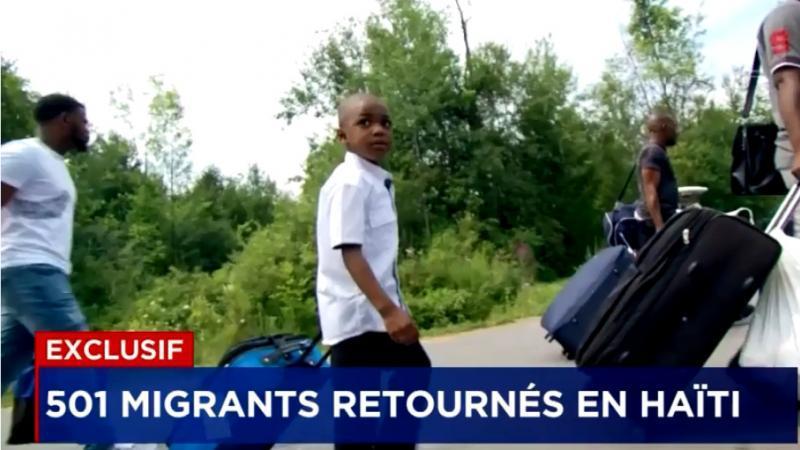 Des centaines de migrants renvoyés en Haïti