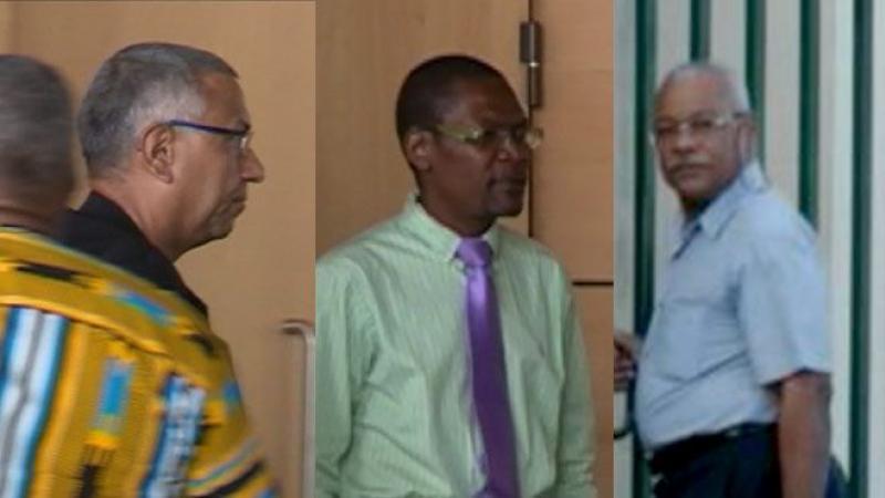 Lundi 19 mars,  le trio du CEREGMIA était sur le campus de Fouillole (Guadeloupe)