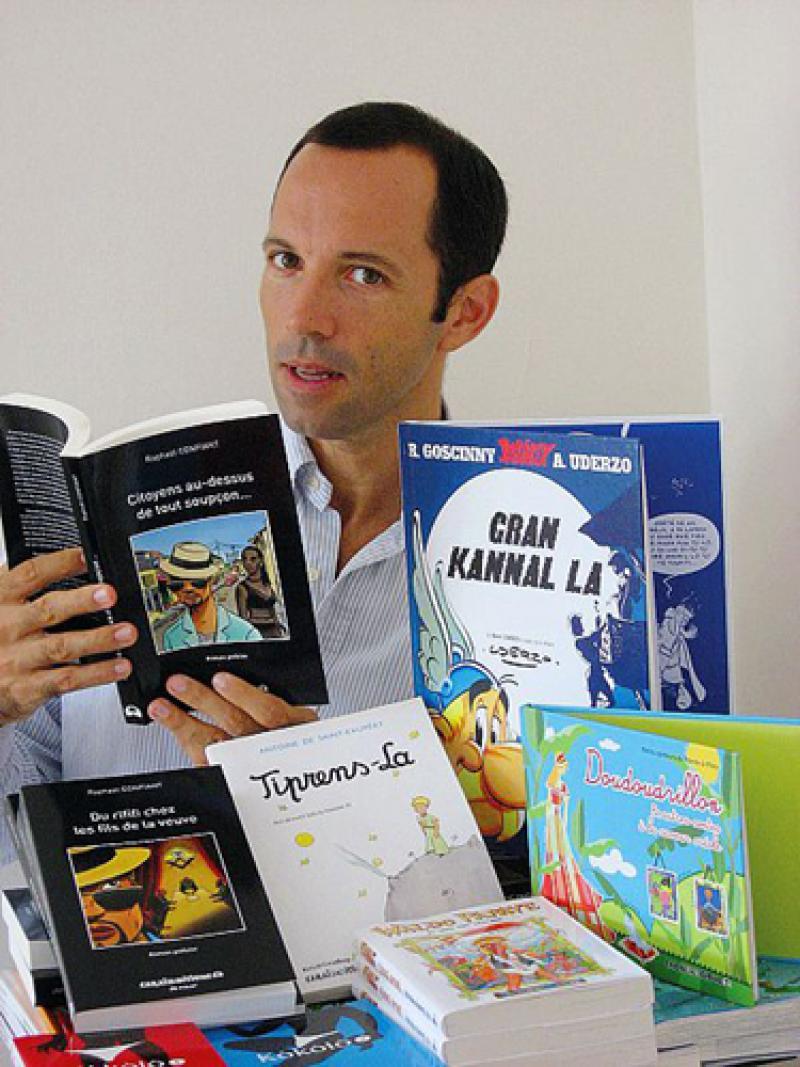 Florent Charbonnier, directeur de CARAIBEDITIONS ou la passion du livre