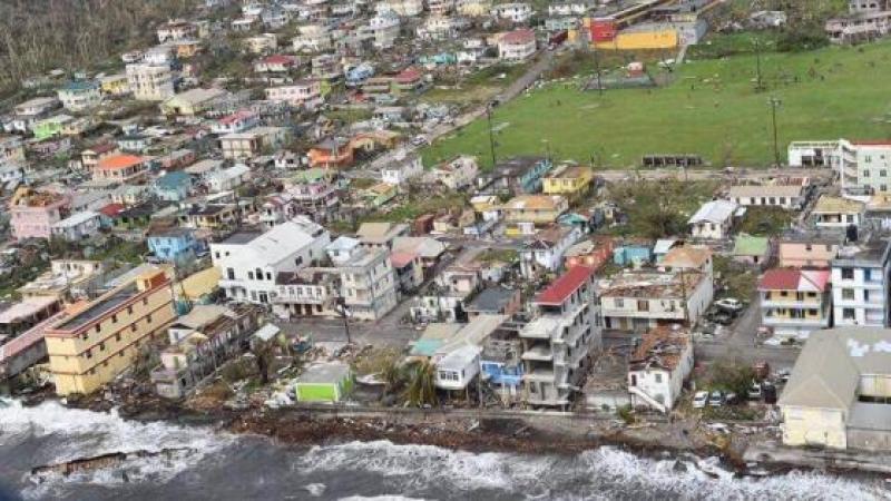DOMINIQUE : L'ECOLE DE PORTSMOUTH A RESISTE AUX RAFALES DE L'OURAGAN MARIA