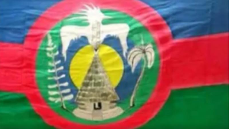 LE DRAPEAU DE LA NATION KANAKY EST A L'ONU DEPUIS 1994.
