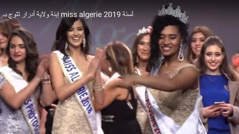 Parce qu'elle est noire et originaire d'Adrar : Les intolérables insultes racistes contre Khadija, la nouvelle Miss Algérie 2019