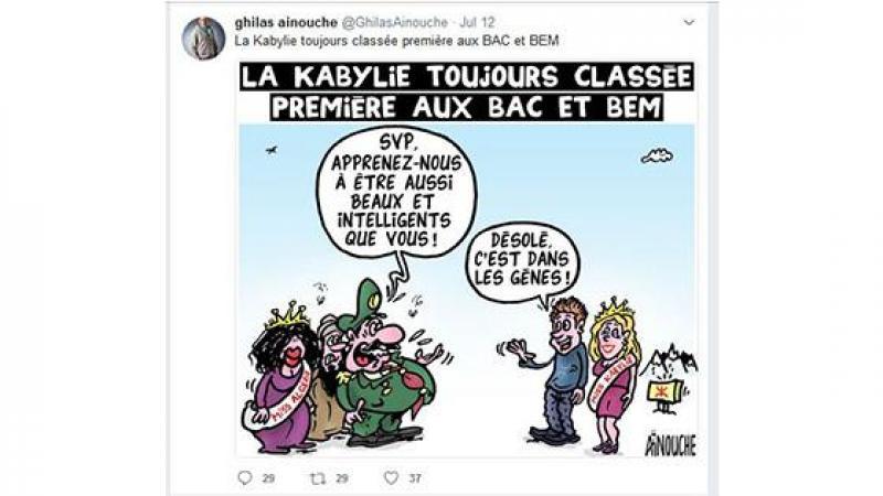 La caricature raciste de Ainouche et le mythe Kabyle …