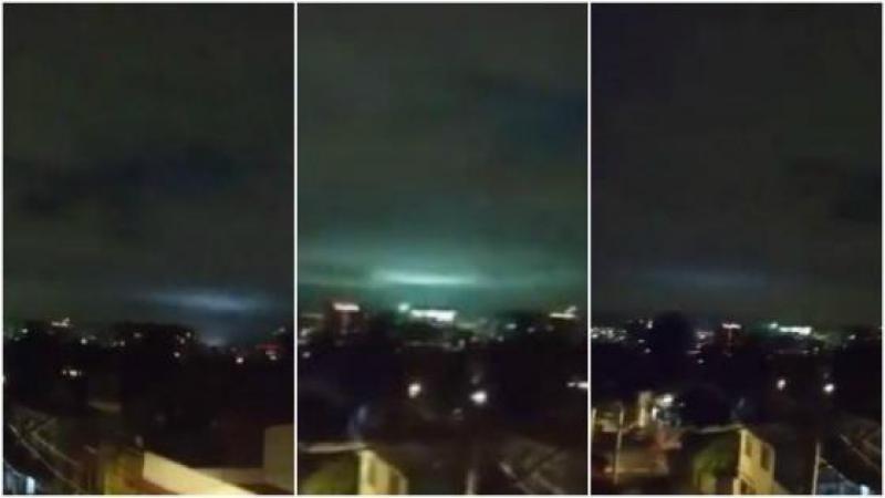 Qué son las extrañas luces avistadas durante el terremoto en México
