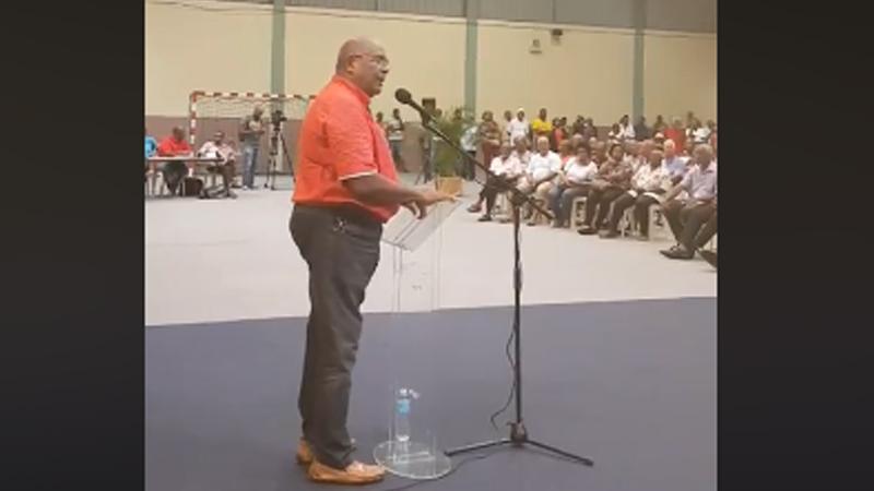 Discours de Daniel Marie-Sainte à l'Assemblée générale du MIM (Gros-Morne, 31 août)