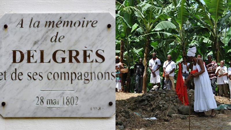 EVENEMENTS  DE MAI 1802, à MATOUBA, SAINT-CLAUDE, EN GUADELOUPE : L'HABITATION  d'ANGLEMONT