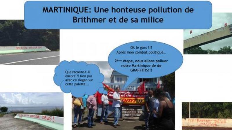 UNE HONTEUSE POLLUTION DE BRITHMER ET DE SA MILICE