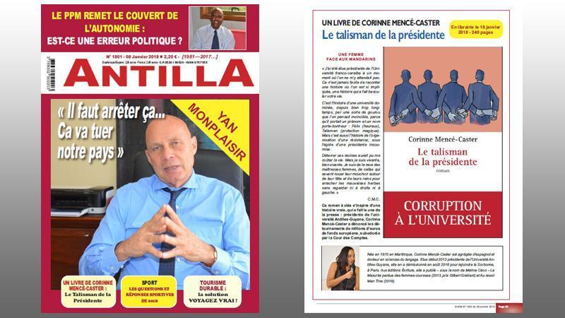 """L'hebdomadaire """"ANTILLA"""" entre dans sa 37è année d'existence"""