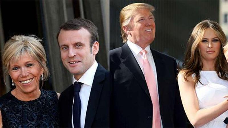 Misogynie : Brigitte Macron tournée en dérision, mais pas Melania Trump