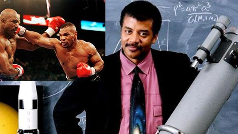Vous connaissez Mike Tyson, mais pas Neil deGrasse Tyson...