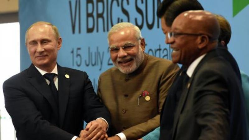 LES BRICS LANCENT UN EQUIVALENT DU FMI AU CAPITAL DE 100 MDS USD