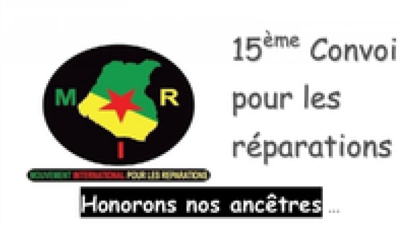 Guyane. Le 15ème Convoi du Mouvement International pour les Réparations (MIR)