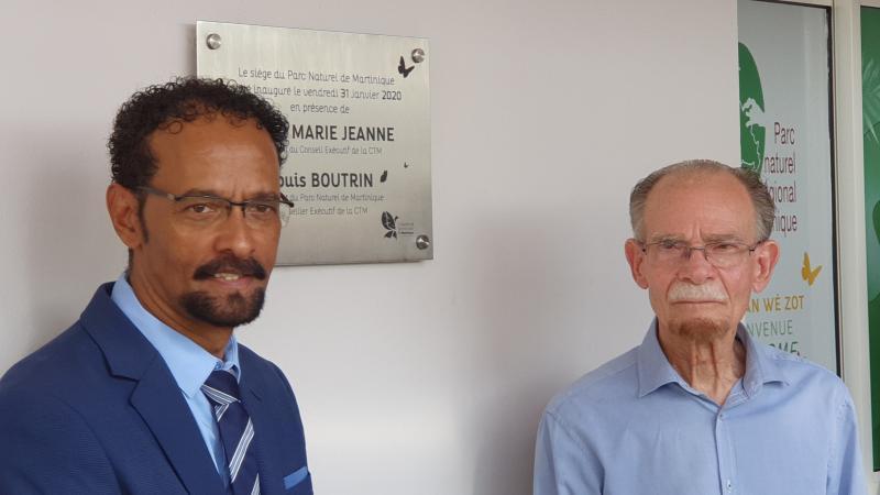 Inauguration du nouveau siège du Parc Naturel de Martinique