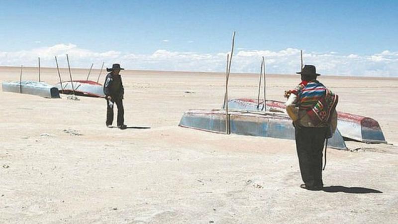 El Poopó desaparece, el segundo lago más grande de Bolivia ha llegado a su fin