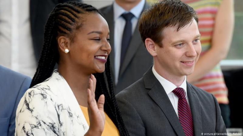 Allemagne : Aminata Touré, 26 ans, élue vice-présidente de l'un des parlements régionaux