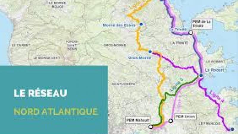 TRANSPORT : LE RESEAU NORD-ATLANTIQUE OPERATIONNEL