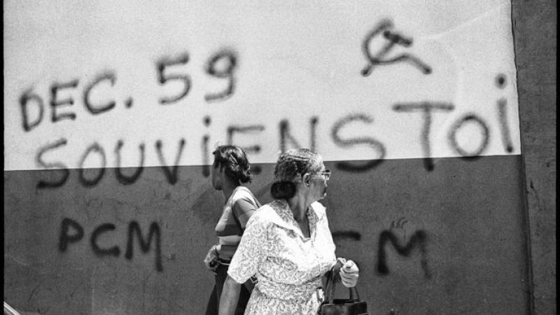 Emeutes de décembre 1959 : une présentation scandaleuse de l'Histoire.