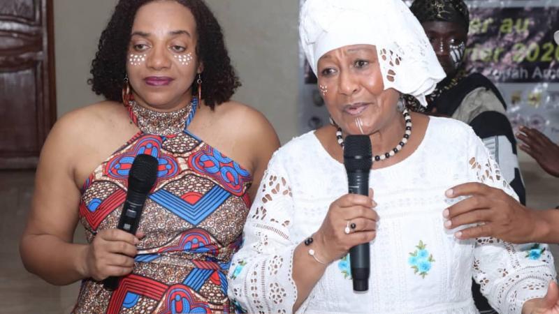 CORINNE MENCE-CASTER DISTINGUEE AU BENIN