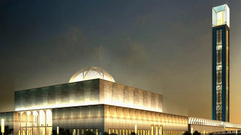 La Chine et la plus grande mosquée d'Afrique