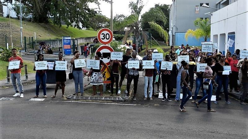 Campus de Schoelcher : la mobilisation des étudiants ne faiblit pas