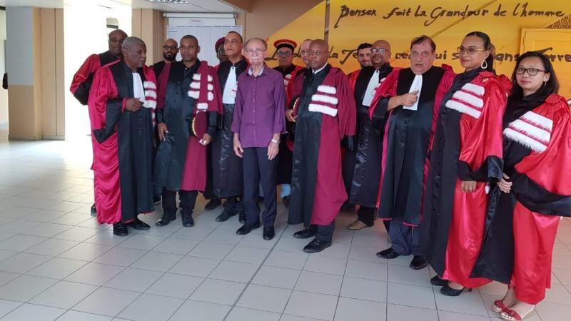 Alfred Marie-Jeanne à la rentrée solennelle de la Faculté de Droit et d'Economie de la Guadeloupe