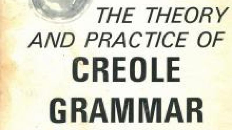 IL Y A 160 ANS, J. J. THOMAS PUBLIAIT LA PREMIERE GRAMMAIRE CREOLE