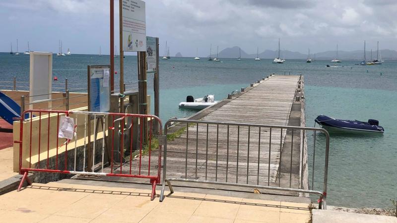 Pourquoi le ponton de Saint-Anne n'a-t-il toujours pas été remis en état ?