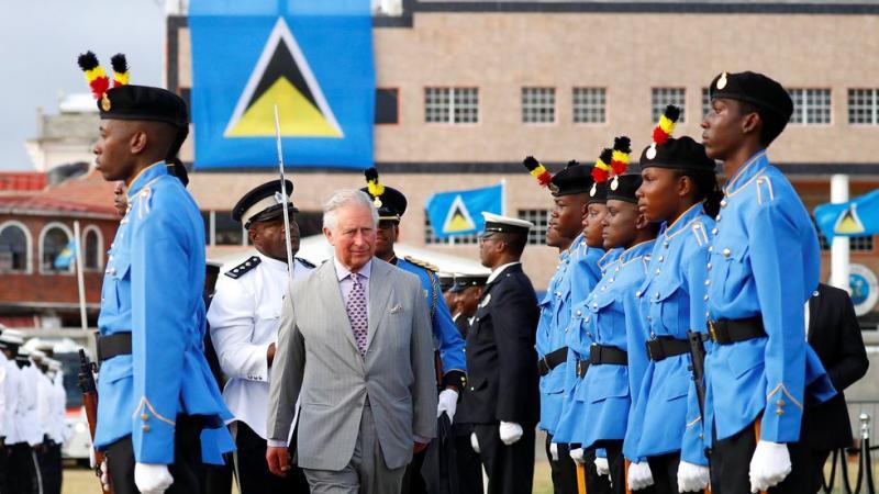 Le Prince Charles et Camilla en visite à Sainte-Lucie