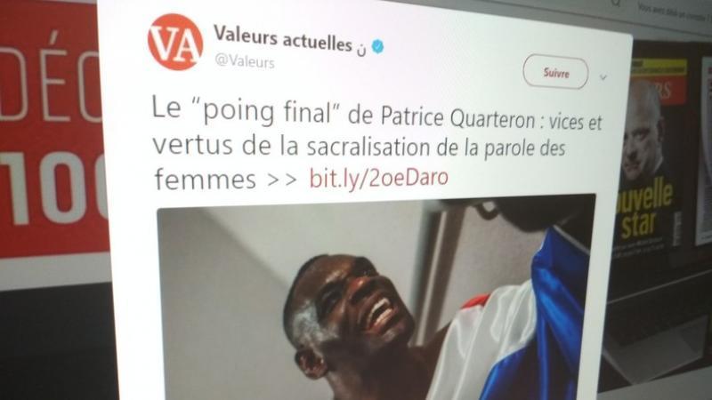 Le boxeur le plus polémique : Patrice Quarteron devient éditorialiste pour... Valeurs actuelles