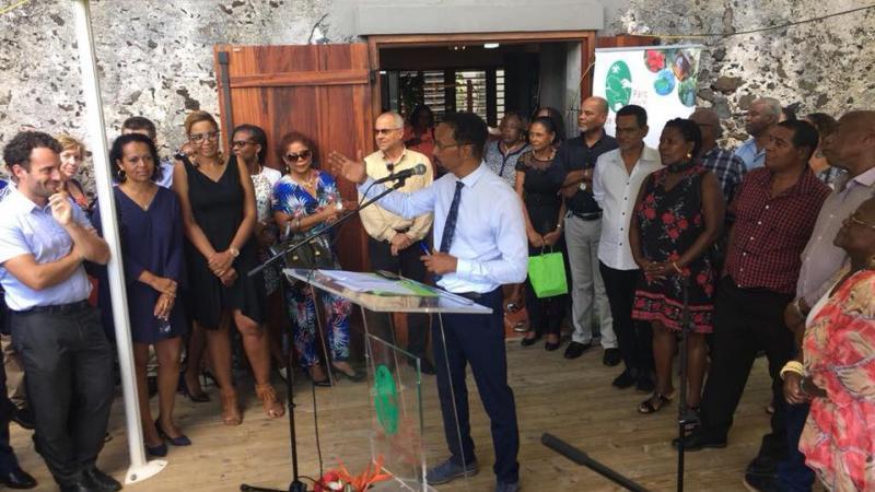 PARC NATUREL MARTINIQUE : PRESENTATION DES VOEUX 2018 PAR LE PRESIDENT LOUIS BOUTRIN