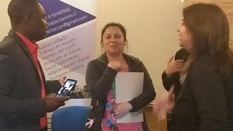 Chili : cet hôpital enseigne le créole à ses employés