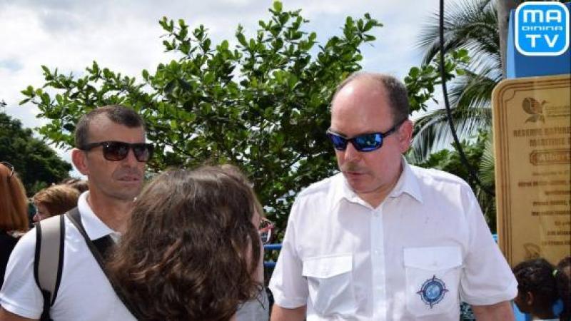 Aucun grand journaliste martiniquais n'a osé interroger le Prince Albert II de Monaco sur les archives de la Principauté séquestrées par le CEREGMIA