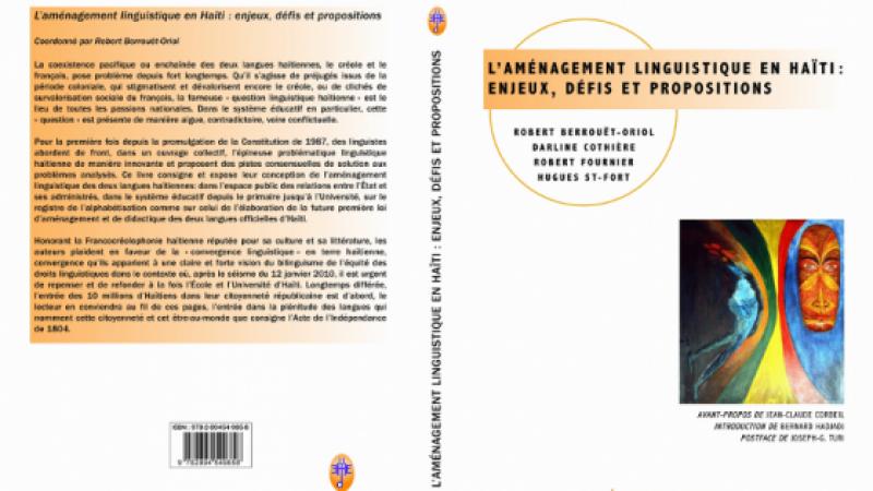 LES GRANDS CHANTIERS DE L'AMÉNAGEMENT LINGUISTIQUE D'HAÏTI (2017-2021)