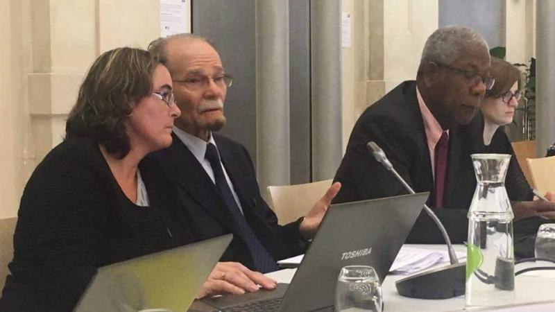 En décembre 2015, intervention d'Alfred Marie-Jeanne à l'Assemblée nationale sur la question du vieillissement