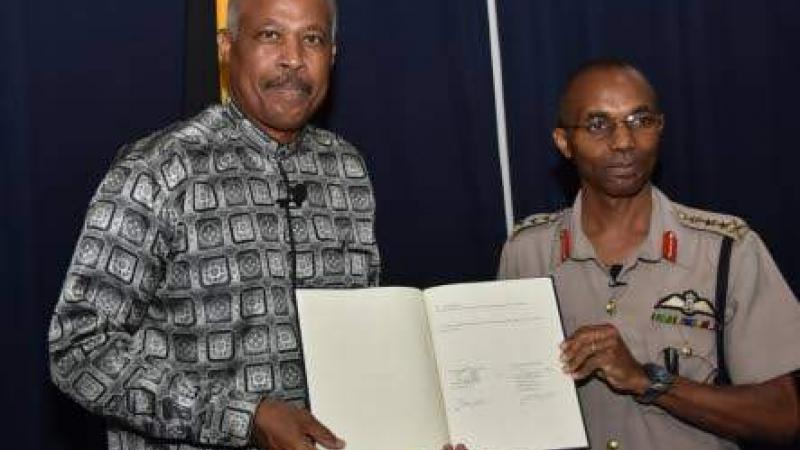 Military academy signs deal with UWI