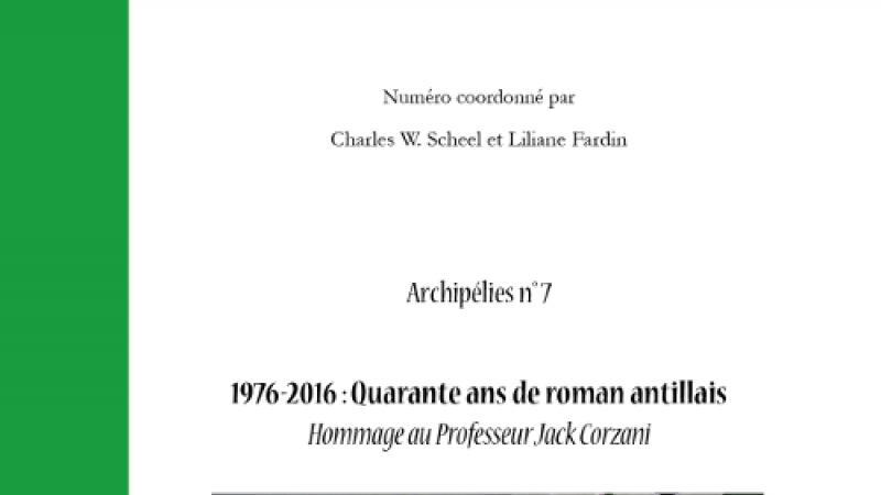 1976-2016: Quarante ans de roman antillais