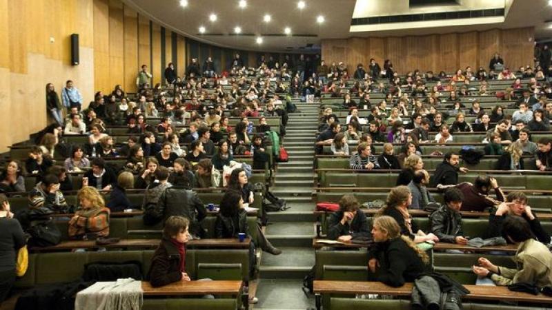 Nouvelle attaque par un groupuscule fasciste à la fac de Strasbourg, la police laisse faire