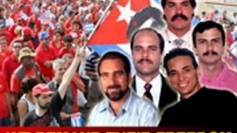 10 ANS D'INJUSTICE, C'EST ASSEZ! LIBÉREZ LES CINQ CUBAINS EMPRISONNÉS AUX ÉTATS-UNIS!