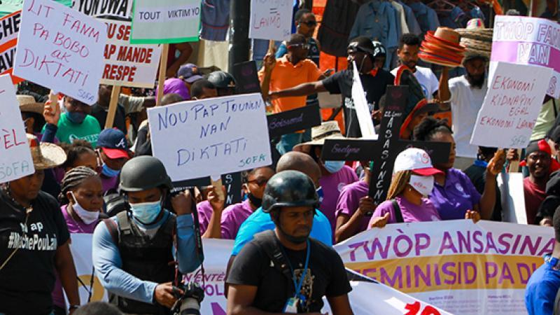Les Haïtiens.nes rejettent la reproduction d'un pouvoir inégalitaire et subalterne