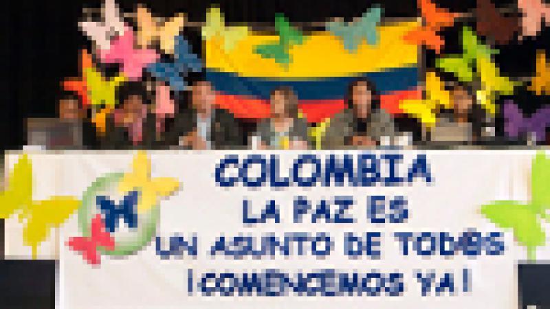 INAUGURAN ENCUENTRO INTERNACIONAL POR LA PAZ EN COLOMBIA