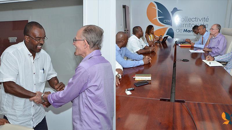 Une collaboration constructive entre les chefs des exécutifs de Guadeloupe et de Martinique