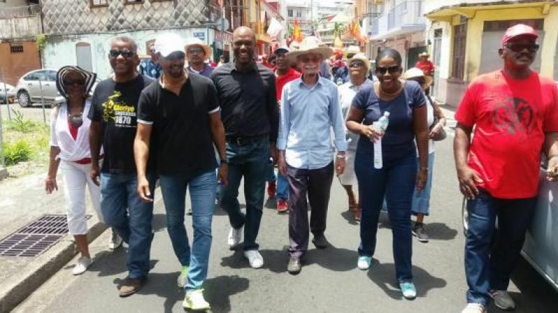 Un 1er mai sous le signe de la solidarité avec les travailleurs caribéens