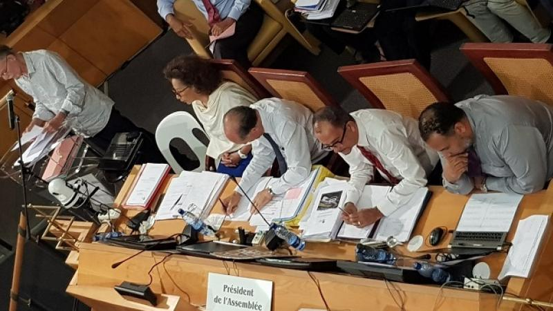 Plénière : Le budget 2020 de la CTM est adopté