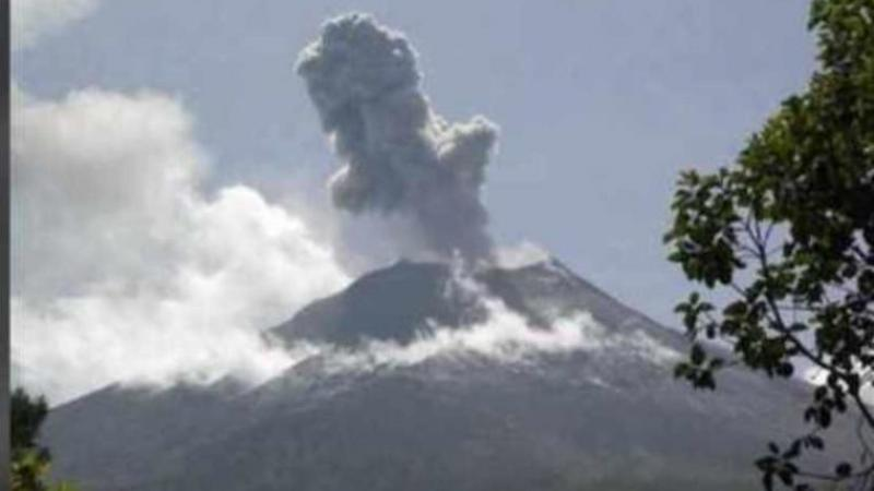 Volcanic activity recorded at La Soufrière St Vincent