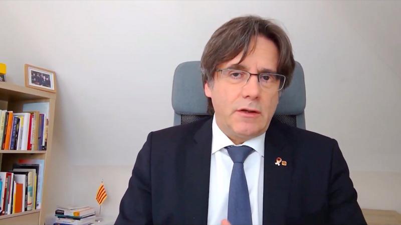 Puigdemont denuncia que l'Estat usa el coronavirus per ofegar drets i llibertats