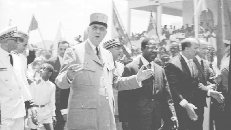 """DE GAULLE EN MARTINIQUE (24 MARS 1964) : """"LA MARTINIQUE EST UN POINT D'OU LA FRANCE DOIT POUVOIR RAYONNER SUR L'ENSEMBLE DE CET OCEAN..."""""""