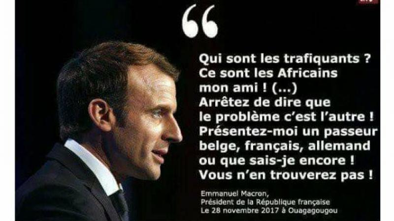 Le problème, c'est bien vous, Monsieur Macron !
