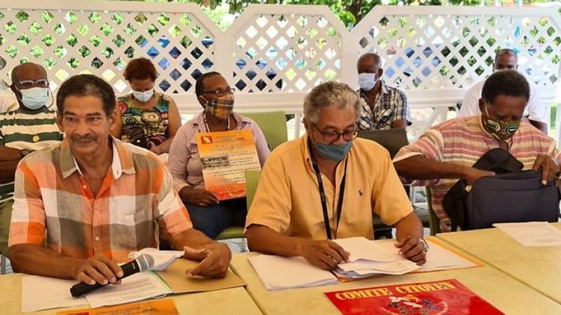 Conférence de presse du Comité Citoyen du Sud de Martinique